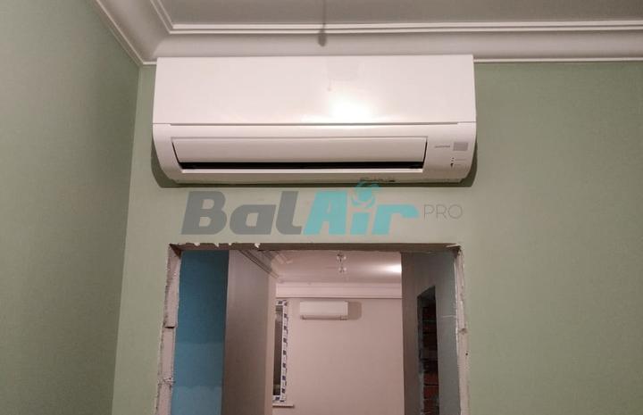 Установка бытовых кондиционеров в квартире м. Выхино